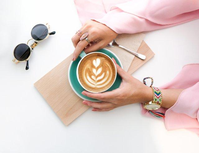 Drink regular coffee