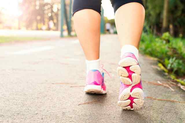 Walk for five minutes at least every two hours