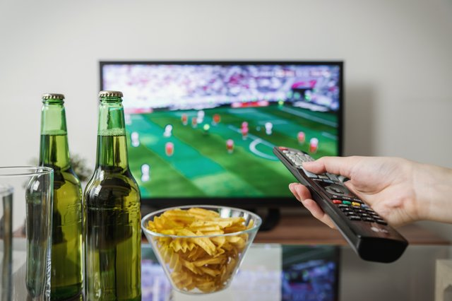 Watch an hour less TV a day